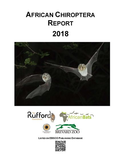African Chiroptera Report 2018